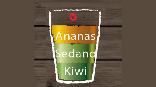 Ananas, selino, kivi