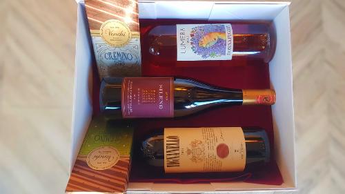 Paketim, Tignanello, Lumera D.F, Sileno Merlot, Produkt Ushqimor