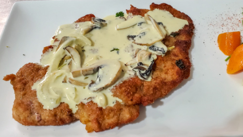 Schnitzel special pule