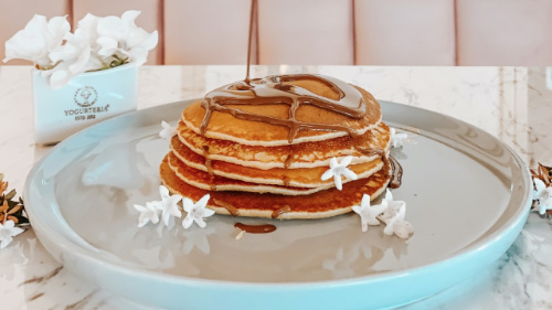 Pancakes me nutella